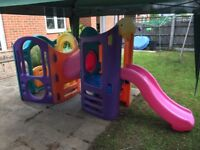 8in1 climbing frame, playhouse, tunnel and slides Little Tikes worth £500 new! great condition!