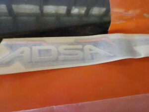 Ski-Doo DSA and ADSA decals goes on skidoo front arms