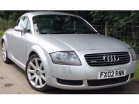 Audi TT Coupe QUATTRO MK1 AWD 4X4 1.8T 225 BHP (BAM Engine) Silver Coupe*
