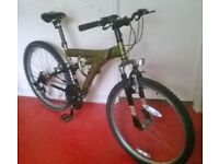 APOLLO 26 inch Full suspension bike ******45 QUID ONO*****