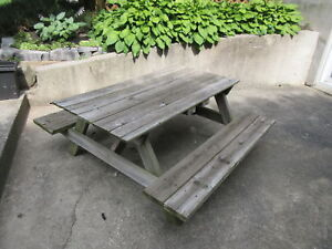 Solid, Hand Made - Kids Picnic Table
