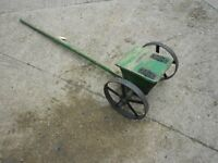 Old Wooden Seed Drill Ideal Garden Ornament