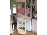 Ikea white storage unit