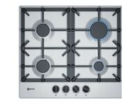 Neff T26DS49NO Gas Hob with knobs and cast iron pan supports T26DS49N0 Brand new box damage...