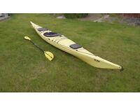 P&H Capella Sea Kayak with Paddle & Spray Deck