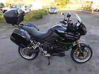 2009 Triumph Tiger 1050 ABS dealer/garage maintained from new, FSH, full serviced and ready to tour