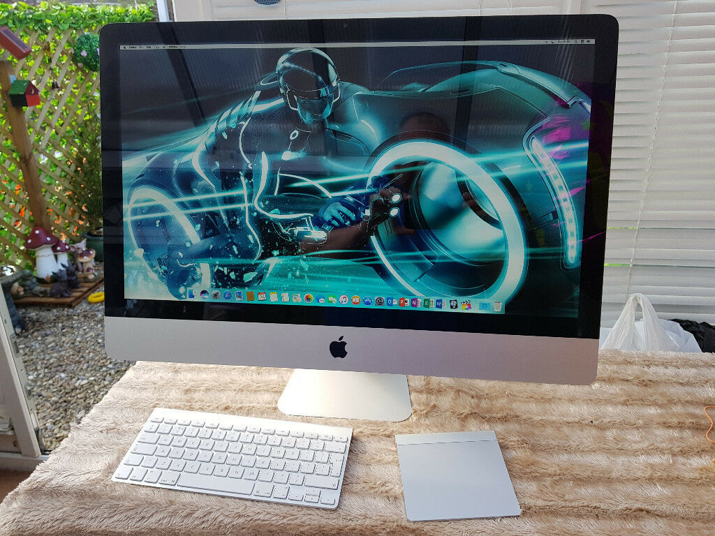 "iMac 27 inchQuad i5 Cpu240GB SSDLogic Pro XMirosoft Office And Final Cut Proin York, North YorkshireGumtree - Super fast Great condition Apple iMac 27"" intel Quad Core i5 2.7Ghz 8gb Ram (upgradable to 32g) 240 Gb Fast SSD Superdrive Latest Sierra with Logic pro x Office. And Final cut pro Apple wireless keyboard Apple trackpad York collection Purchased new..."