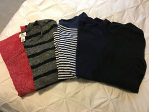 Maternity- large and XL shirts
