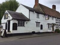 Full time or Part time chef required at The Shakespeare inn in Harbury. We are a family run pub