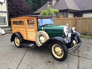 1931 Ford Model A 2 Door Woody