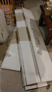 White Finished Shelving Boards