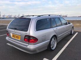 Mercedes-BENZ E class 320 cdi automatic avant-garde 2002 low mileage