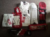 Slazenger CRICKET Helmet/Pads/Whites/Gear/Accessories - New with tags RRP £170!