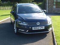 2013 Diesel, V W Passat estate. 170. BLUE TECH TDI S-A. Co Tyrone.