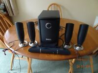 DELL 5.1 PC SPEAKERS