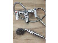 bath mixer tap and shower head vgc