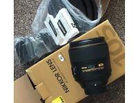 Nikon Nikkor 105mm 1.4 F1.4 1.4E E ED Lens FX DSLR