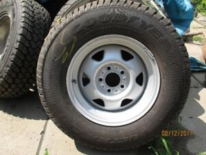 Goodyear Ultragrip p225/75r15 and steel S10 rim
