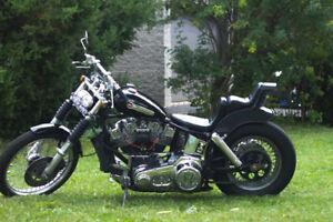 Shovelhead Chopper Bobber Harley Davidson