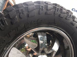 "20"" Eagle Alloy with 35x12.50 Cooper STT Pro tires"