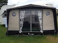 Isabella Magnum Coal awning inc Storm straps and hurricane tie downs.