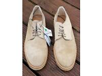 Men's suede shoes