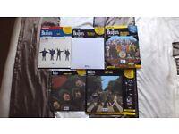 5 Beatle Vinyl Albums Mint, Abbey Rd,Sgt Pepper,White Album,Help,Rubber Soul