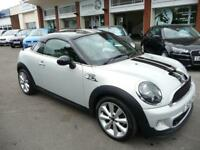 MINI COUPE 2.0 COOPER SD 2d 141 BHP LOVELY CAR WITH LOTS OF EXTRAS (silver) 2011