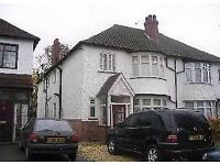 4 BED ROOM SEMI DETACHED HOUSE FOR IN LAKEY LANE