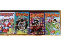 Children's annuals - collectible Beano and Dandy