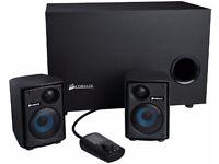 Corsair CA-SP211UK SP2500 Gaming 2.1 Speaker System