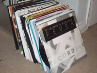 """110 x 12"""" House Music Vinyl Collection 90's- 2000's"""