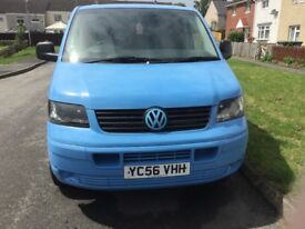 VW Transporter T5 well serviced, replaced intercooler, water pump and cam belt kit