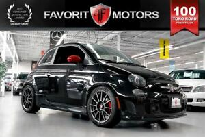 2014 Fiat 500 Abarth | MANUAL | RED LTHR | SUNROOF | BEATS