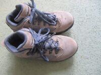 Hi-Tech Womens Waterproof Walking Boots (Grey/blue) Size 5