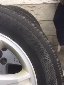 Winter tire for sale need gone asap $400  size 205/60/r16