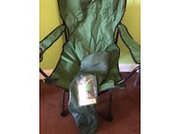 Brand new fishing chair in the carrying bag £10