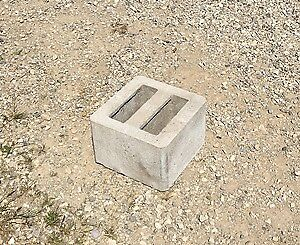 "8"" Pier Blocks x 88 - Unused"