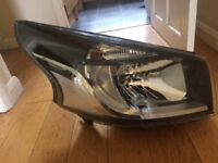 Renault Trafic MK3 14-17 DRL Headlight Headlamp Right Drivers Off Side Genuine Fits: Renault Trafic