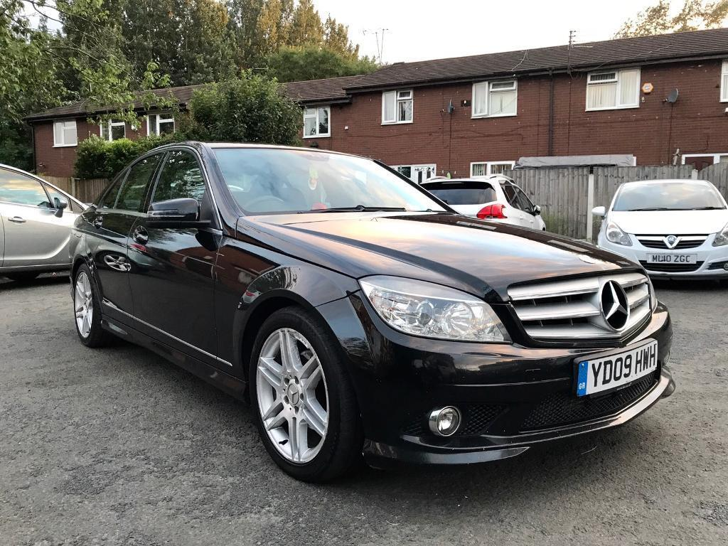 2009 mercedes c220 cdi amg sport long mot hpi clear. Black Bedroom Furniture Sets. Home Design Ideas