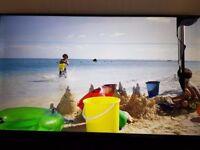 "Samsung UE55KU6000 55"" 4K HDR Smart TV ( little damage on lcd )"