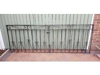 HEAVY DUTY wrought iron set of gates,