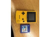 Game Boy Colour and Pokemon Blue