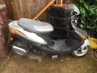 ZY50QT Scooter