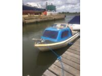 15ft fishing boat for sale with engine