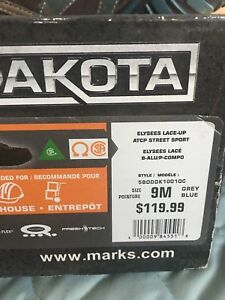 Dakota women safety shoes