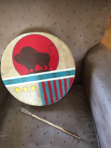 Beautiful First Nations Hand Drum