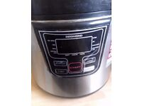 Redmond MultiCooker 5L. Functions: keep warm, time delay, reheat