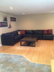 Sectional Couch/couches with Extra Piece and Ottoman
