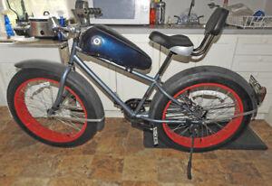 Custom Harley Davidson Bicycle